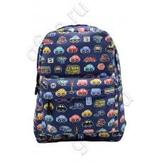 Рюкзак с машинками ZH-043